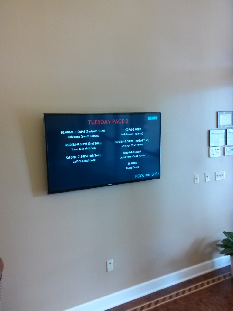TV installation Escondido