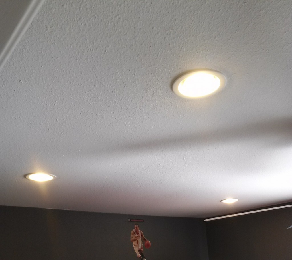 Ceiling can light installation in San Marcos