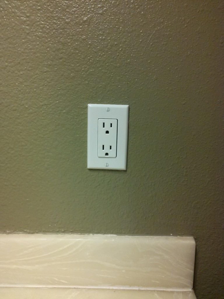 Extra outlet