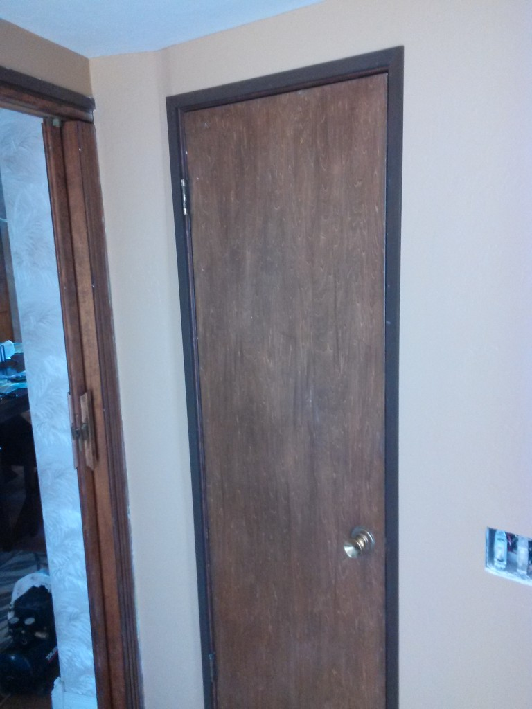 Door trim installation in San Marcos
