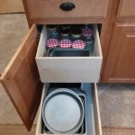 Pull out kitchen drawers in San Marcos