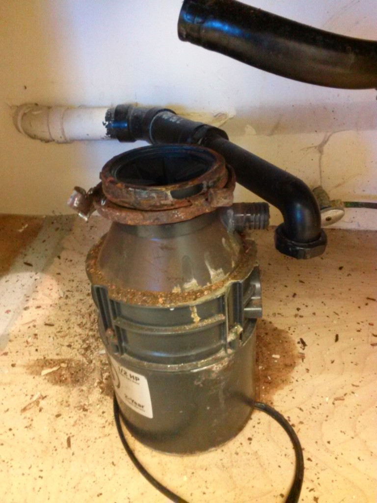 Garbage disposal installation Escondido