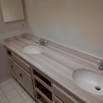 Bathroom vanity top installation Escondido