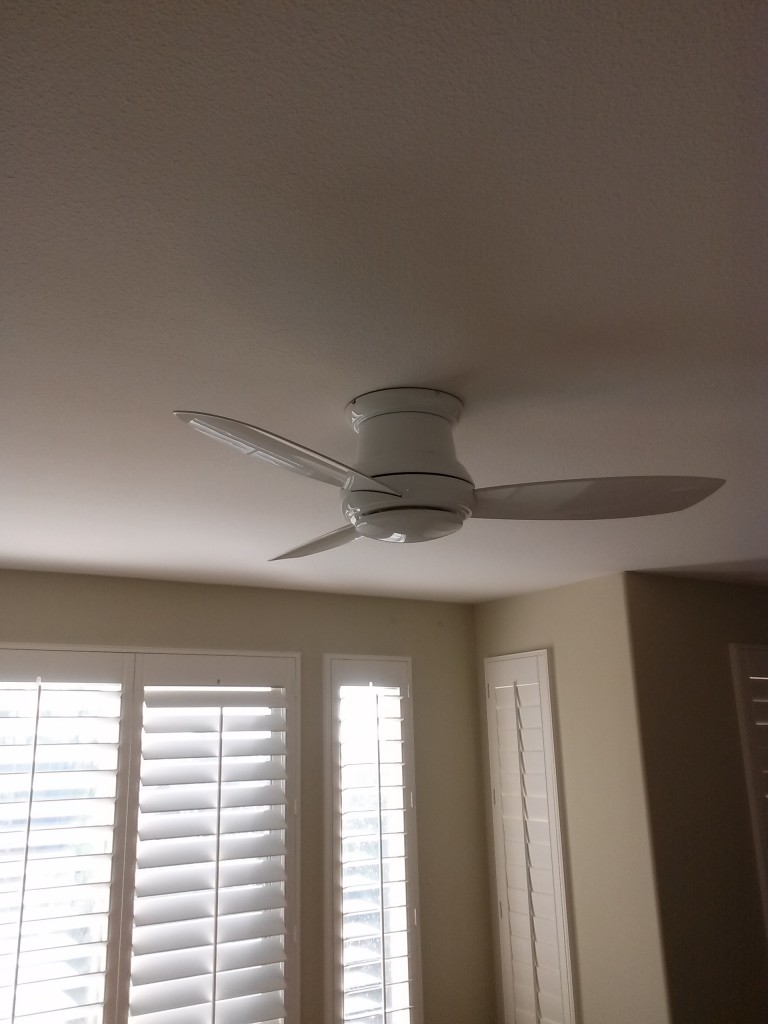 Ceiling fan installation Vista