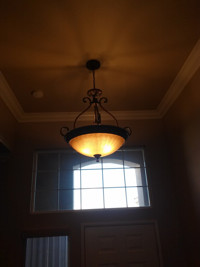 Light fixture installation Poway
